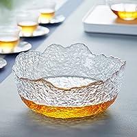 友亦思 日式锤纹大号茶洗笔洗茶渣桶 加厚水盂功夫茶具配件家用花器水果碗多用