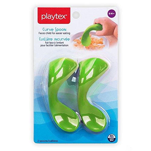 Playtex 2 件套婴儿曲线早期自喂食勺