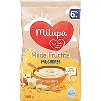 Milupa Guten Morgen Milchbrei Milde Früchte, 5er Pack (5 x 400 g)