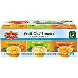 Del Monte No Sugar Added Variety Fruit Cups (Peaches, Pears, Pineapples), 4-Ounce (Pack of 12)