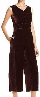Rebecca Taylor 女式天鹅绒褶饰连身衣