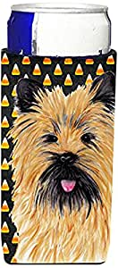 Cairn Terrier Candy Corn Halloween Portrait Michelob Ultra Koozies for slim cans SC9199MUK 多色 Slim