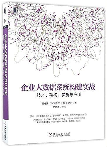企业大数据系统构建实战:技术,构建和实施PDF电子书