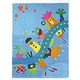 HABA 儿童地毯 dreamland / 优质标签: pollution-free / 堆材质:*** 新西兰羊毛 / 堆高: / 图案: / 编织: / 生活空间:儿童房