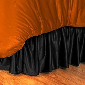 NBA Brooklyn Nets 床裙,中号,黑色