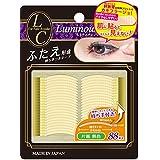 Lumamastienge 双眼形眼贴纸 单面 常规尺寸 肤色 88根