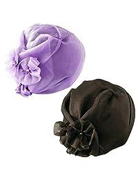 三喜工业 时尚头巾 丝绸玻璃纱 2色组