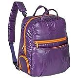 Lassig Glam Global系列 妈咪双肩背包 紫色 36*17*37cm