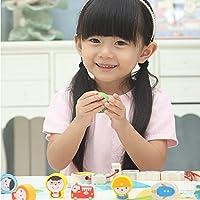 木马智慧 职业串珠儿童益智早教穿绳积木穿珠玩具 带图卡 23810