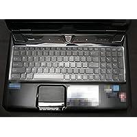 Leze - 超薄透明硅胶键盘保护膜 适用于 MSI 16GA GT60 CR61 CX61 GE60 GE60H GE60PH GP60 GX60 GT60 GX60 CR70 GP70 GE70 GT70 Z70 GT780 GT780DX GT780DXR 游戏笔记本电脑 - TPU