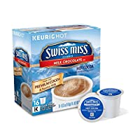 SWISS MISS COCOA HOT MILK CHOCOLATE K CUPS 16 CT