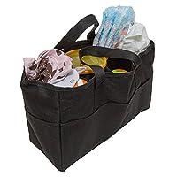 妈妈*尿布袋插入收纳袋,外面有 5 个,内侧有 6 个储物袋 - 为任何妈妈的钱包、手提包、背包或手提包换成