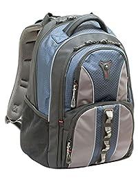 Wenger 600629 COBALT 40.64 厘米笔记本电脑背包,三重保护隔层带外壳稳定平台蓝色 {23 升}