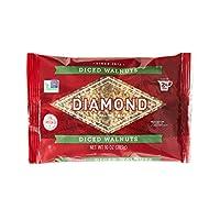diamond walnuts,精致装饰,10 盎司袋(6包)