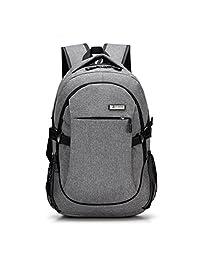 韩版双肩包男背包男休闲女旅行商务电脑包中学生潮学院风充电书包
