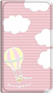 智能手机壳 手册式 对应全部机型 薄型印刷手册 cw-057top 套 手册 气球 超薄 轻量 UV印刷 壳WN-PR036072-M AQUOS PHONE Xx 106SH 图案C