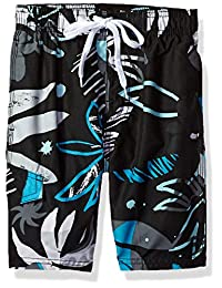 Kanu Surf 男孩 Baja 花卉快干沙滩沙滩短裤游泳裤