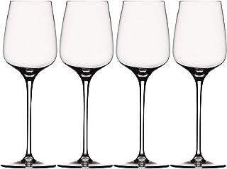 Spiegelau & Nachtmann 白葡萄酒杯套装 水晶玻璃 1416182,365ml,威尔斯伯格纪念日,4件装
