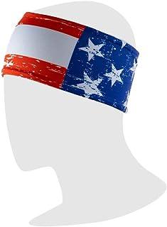 MB Wear Bandeau 美国头巾,黑色/白色/蓝色/红色,均码