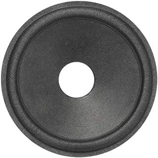uxcell 2.5英寸(约6.4厘米)纸扬声器锥形低音炮锥形鼓纸 0.5英寸(约1.3厘米)内径带布环绕