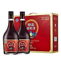 椰岛鹿龟酒纪念装礼盒 500ml*2瓶 33度养生***酒 ***酒