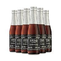 林德曼 比利时进口水果啤酒 Lindemans林德曼法柔250ml*6瓶 女士水果啤酒