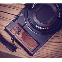 高级木 hand GRIP 适用于索尼 RX 100和 rx100m III and II j.b. 相机设计–美国制造