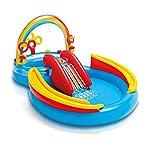 """Intex 彩虹拱门充气式游戏泳池,117"""" X 76"""" X 53"""",适合 2+ 岁以上儿童"""