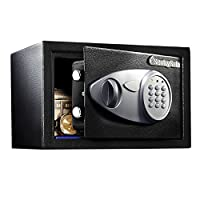 SentrySafe X041E 0.4 Cubic Foot Security Safe, Black