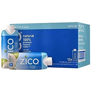 Cocacola可口可乐ZICO天然椰子水NFC果汁饮料330ml*12整箱(泰国进口)