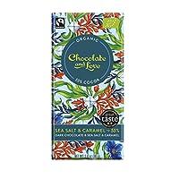Chocolate & Love 海盐 55%黑巧克力和焦糖80g(14包)