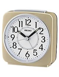 Seiko QHE140G 闹钟 模拟 中性款塑料金