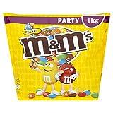 M&M'S 烤花生包裹牛奶巧克力 多色 适合所有年龄段,1000g