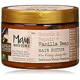 Maui Moisture Maui 保湿顺滑修复香草豆*黄油,12 盎司