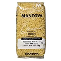 Mantova Orzo Bronz Die Pasta, 1 Pound