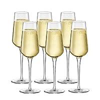 Bormiolirocco 波米欧利.罗克 意纳多 三感系列香槟杯 280ml六只装 3.65740S6