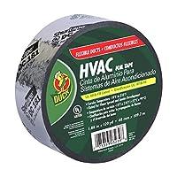 Duck Brand 673753 HVAC UL 181B-X Listed Flex Foil Tape, 1.88-Inch by 120-Yards, Single Roll, Silver