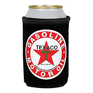 Texaco Logo Can Koozie - Officially Licensed