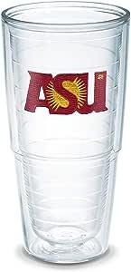 Tervis 单独盒装玻璃杯,24 盎司,透明 透明 24 oz 093597049811