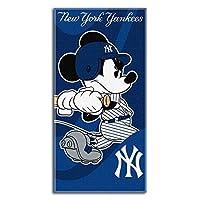 MLB 波士顿红袜队伍 Disney 米奇沙滩毛巾