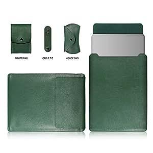 GONOMI 笔记本电脑和 iPad *超细纤维皮革手提保护套