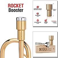 喇叭吹嘴 Booster- KGUBrass 定制助推器。 限量版(原黄铜) Custom Rocket