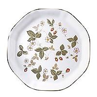 Wedgwood 野草莓系列 餐盘类产品 白色 オクタゴナル ディッシュ S 50105504951