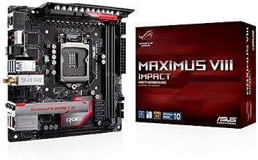 Asus 华硕 ROG Maximus VIII Impact 游戏主板(插座1151,Mini-ITX,英特尔 Z 170,2 X DDR 4 - 内存,USB 3.1)
