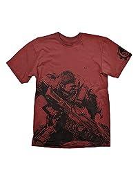 GEARS OF WAR 4–Fenix T 恤红色