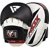 RDX 拳击钩和睡垫 MMA 目标聚焦打孔手套 泰拳击踢盾