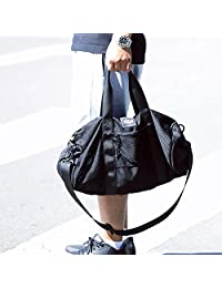 DITD 简约网布包健身包女运动出游包男潮旅行包斜挎包单肩行李袋手提包W-01