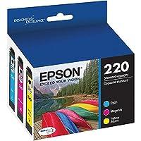 Epson 爱普生 DURABrite Ultra T220 墨盒 多包 - 青色、黄色、洋红色型号 T220520