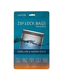 Noaks Bags M 5 件装 - 防水袋 - 防护罩 - 拉链包 - 防水深达 10 米,抗臭,食品*,透气