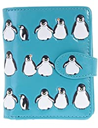 Shagwear Women's Small Wallets with Zipper Pocket Ocean and Sea Animals